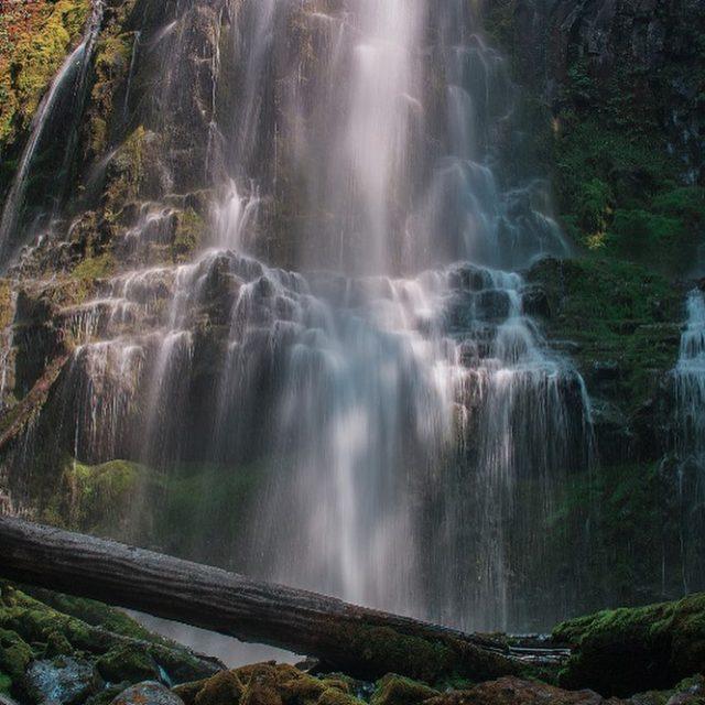 We spent our weekend chasing waterfalls landscapephotography oregon pnw proxyfallshellip